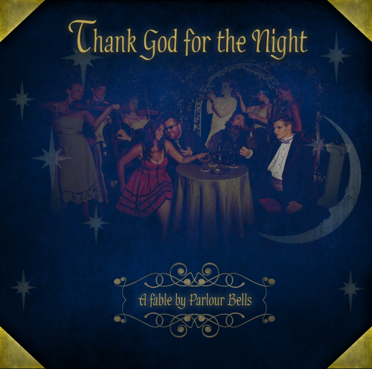 Parlour Bells, Thank God for the Night, Cover Art